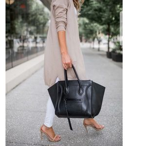💝 SALE CELINE PHANTOM CALFSKIN LEATHER SACHEL